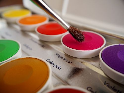 watercolor brush background