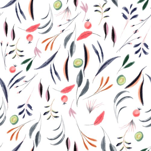 watercolor  tablecloth  fabric