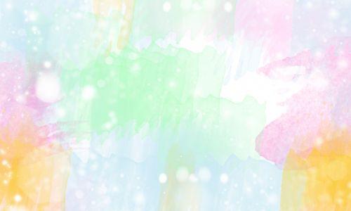 Watercolor Bokeh Pastel Background