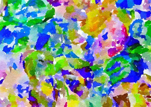 Watercolor Chaos