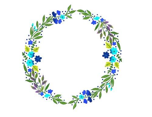 watercolor wreath  watercolour  wreath