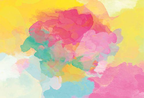 watercolour gradient painting technique
