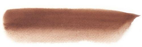 watercolour dark brown brushstroke