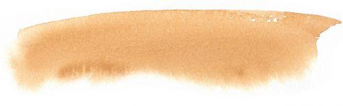 watercolour ocher brushstroke