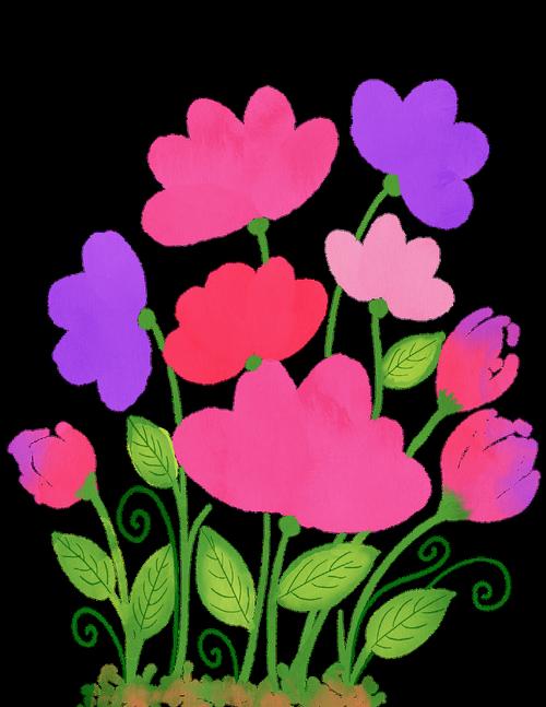 watercolour flowers  watercolor  floral