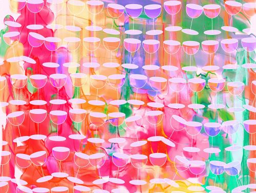 Watercolour Wine