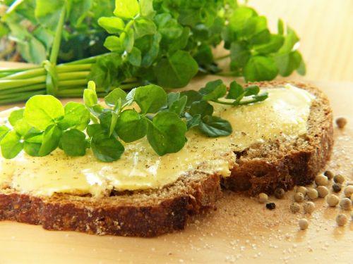 watercress frisch bread