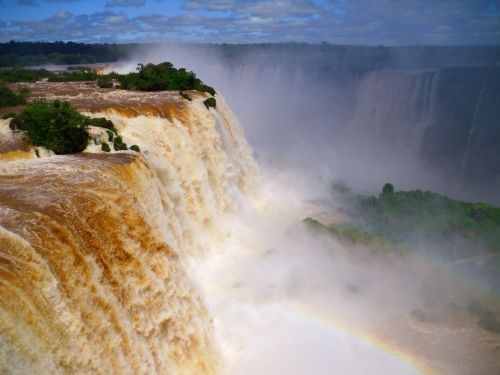 waterfall brazil iguazu
