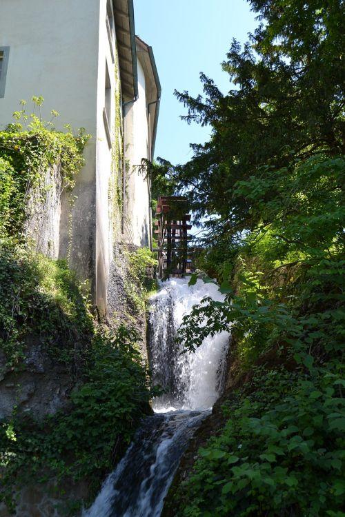 schaffhausen switzerland watermill summer