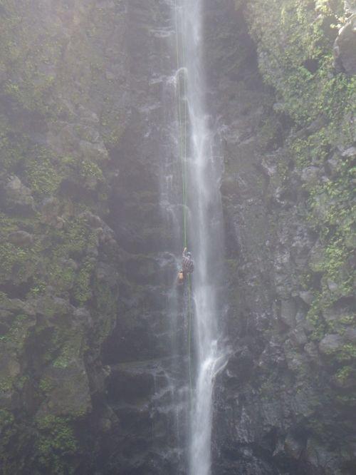 krioklys,Rapel,lynai,ekstremalios,kanjonas,rekreacinė,rappelling