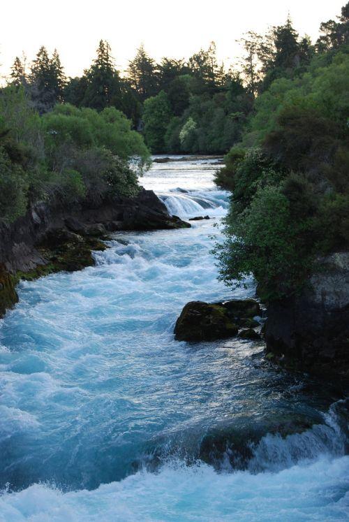 waterfall new zealand white water