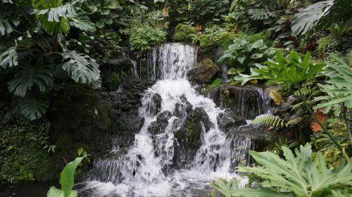 waterfall cambodia nature