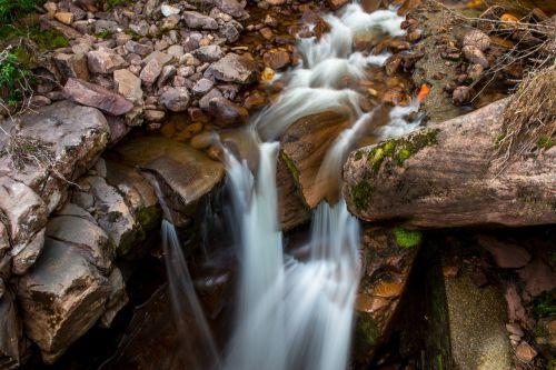 waterfall water green