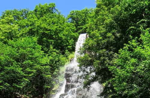 waterfall river slope