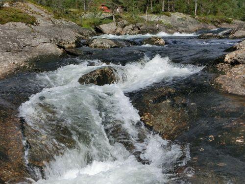 waterfall heide nature