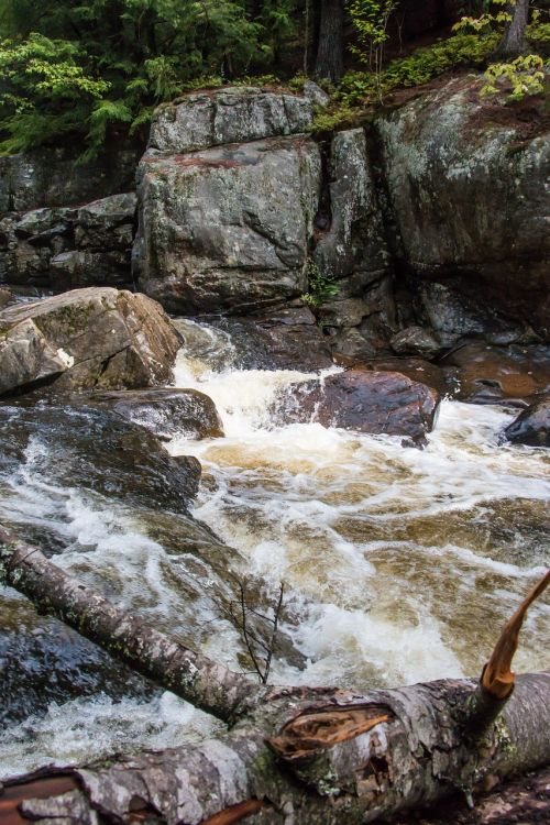 waterfall nature river