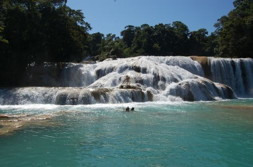 waterfall water flowing