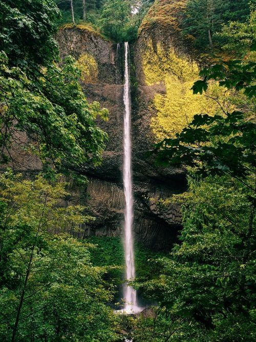 waterfall portland nature