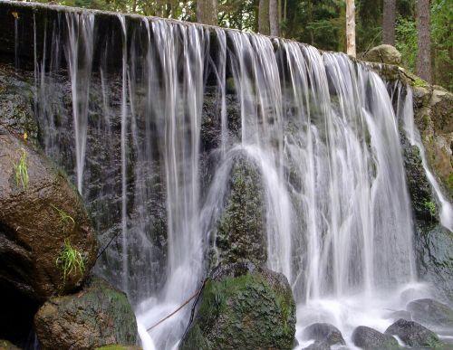 waterfall water source