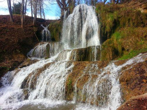 waterfall slovakia mountain