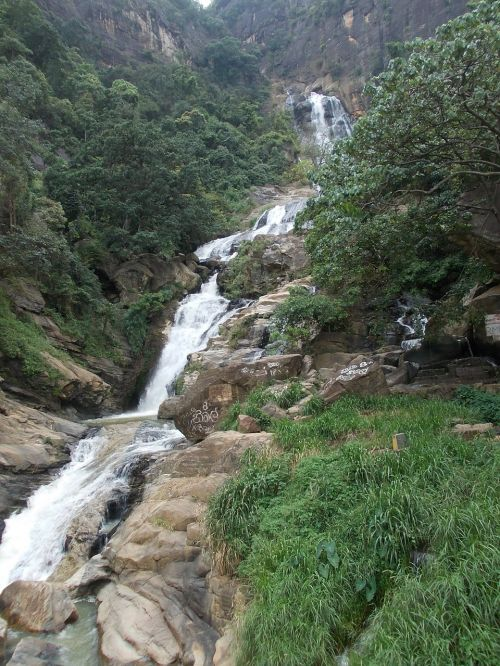 waterfall water natural