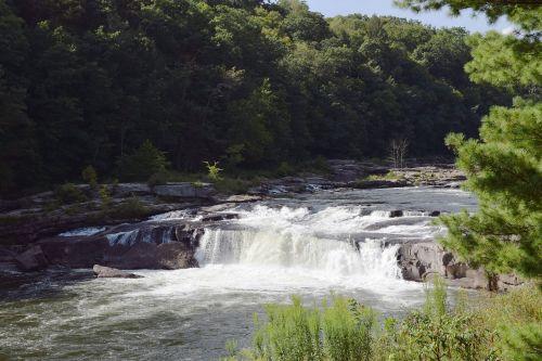 waterfall landscape stream