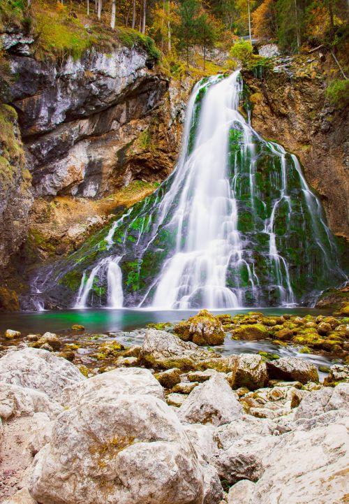 waterfall golling salzburg