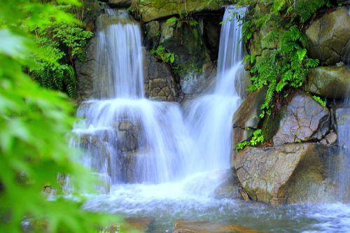 waterfall japan water
