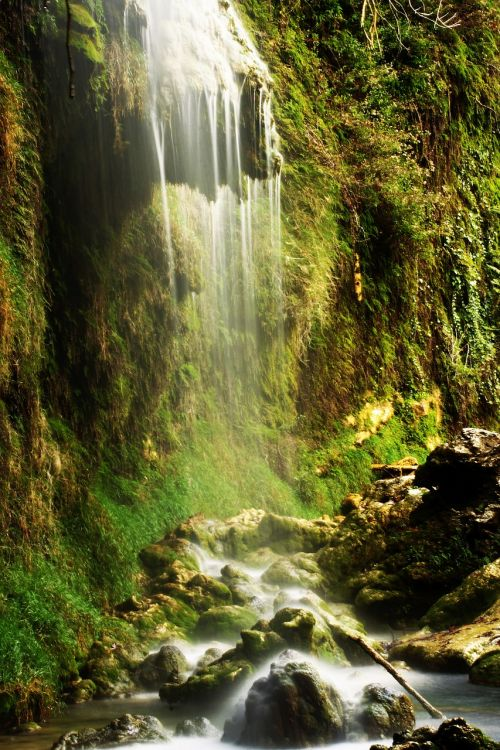 waterfall nature turkey