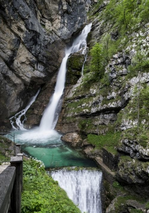 waterfall beauty peace