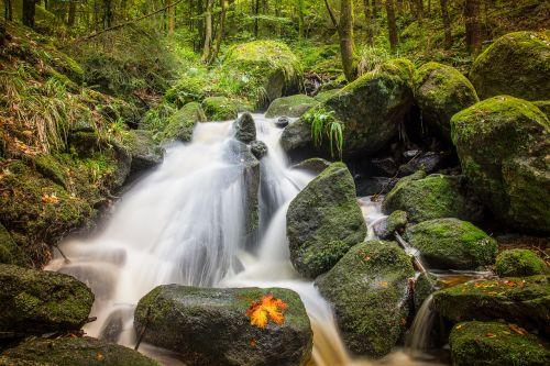 waterfall water nature