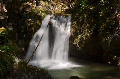 waterfall myrafälle lower austria