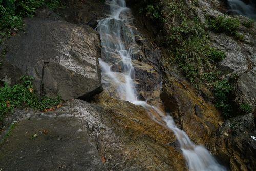 waterfall nature long exposure