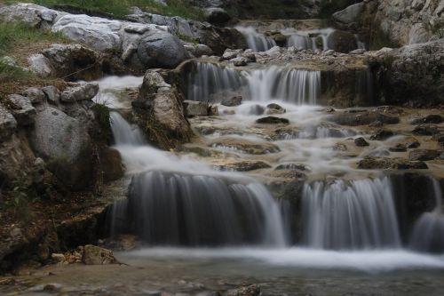 waterfall limone lake garda