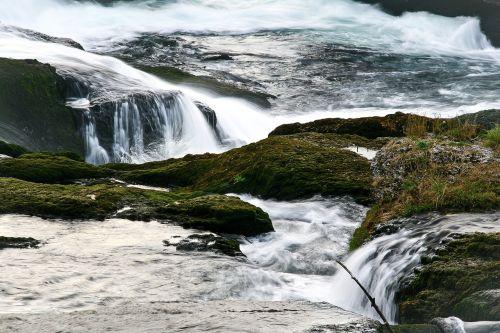 waterfall water racing
