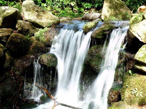 waterfall dray nur waterfall water