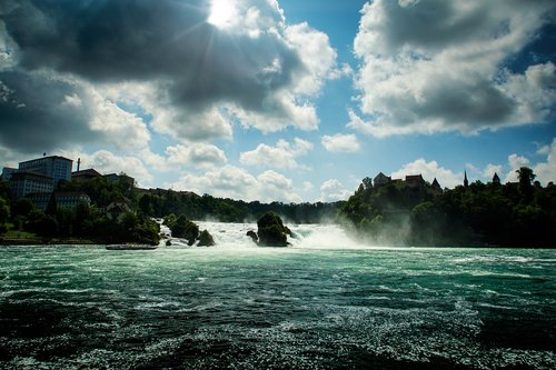 waterfall  nature  bust