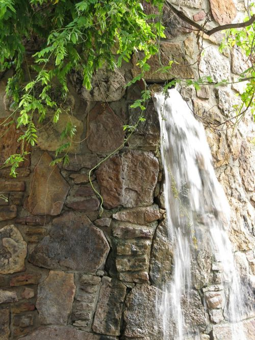 waterfall fountain architecture