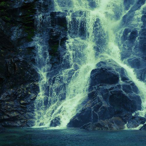 waterfall ticino cold