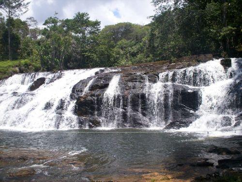 waterfall itacaré cascade