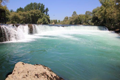 waterfall river water