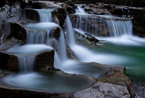 waterfall  longexposure  volcanic