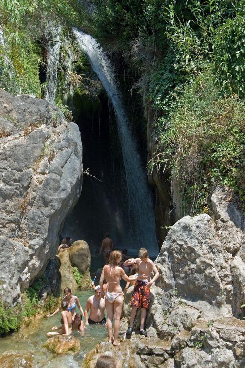 waterfall holiday river