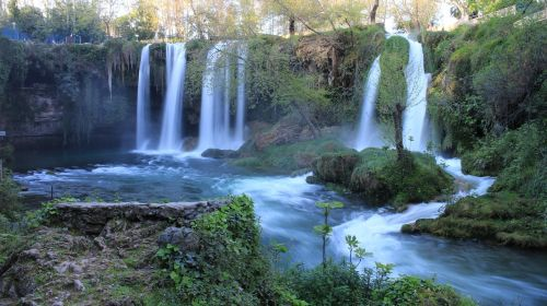 waterfall waterfall antalya turkey