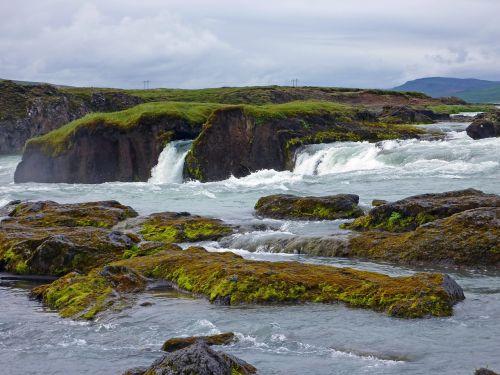 waterfall iceland gradually