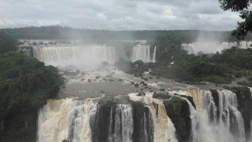 waterfalls waterfall foz do iguaçu