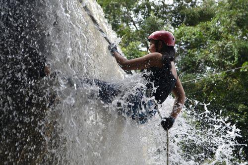 waterfalls fun trees