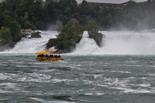 waterfalls rhine river