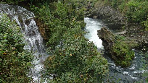 waterfalls river slunjčica