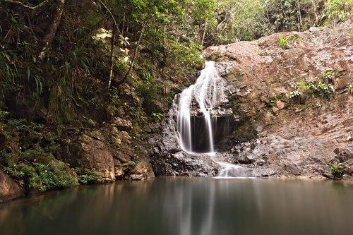 waterfalls  motion blur  long exposure